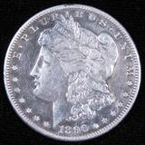 1896 S Morgan Dollar.