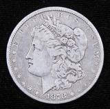 1878 Morgan Dollar.