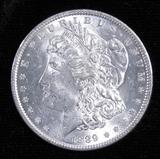 1889 Morgan Dollar.
