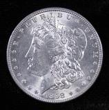 1898 Morgan Dollar.