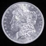 1885 O Morgan Dollar.