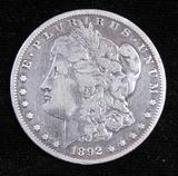 1892 S Morgan Dollar.