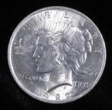 1922 Peace Dollar.