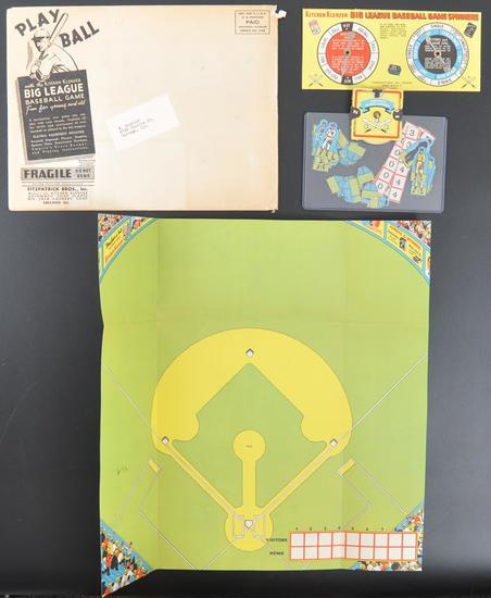 Kitchen Klenzer Big League Mail Away Baseball Game with Original Envelope
