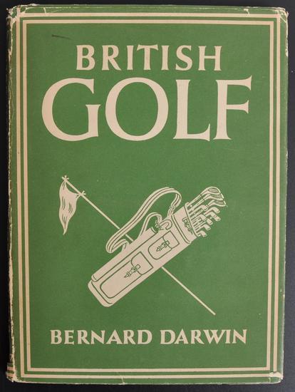 """British Golf"" by Bernard Darwin 1946"