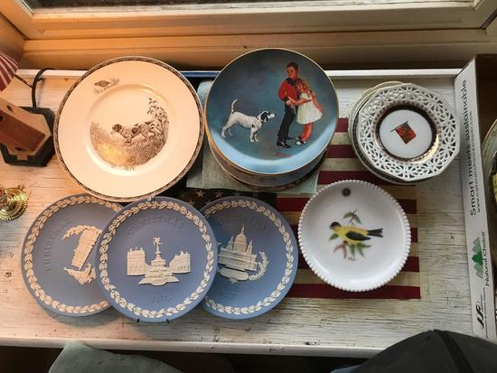 Group of collector plates