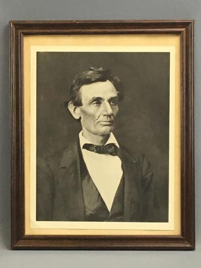 Photographic Portrait of Abraham Lincoln
