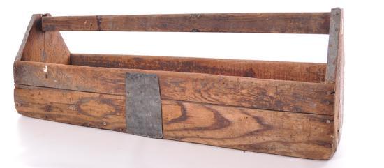 Antique Primitive Tool Caddy