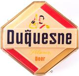 Vintage Duquesne Pilsner Beer Light Up Advertising Sign