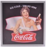 Modern Cocoa-Cola Double Sided Advertising Light Up Sign