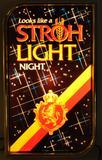Vintage Stroh Light Advertising Light Up Beer Sign