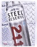 Steel Reserve 211 Advertising Metal Beer Sign
