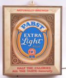 Vintage Pabst Blue Ribbon Extra Light Advertising Light Up Beer Sign