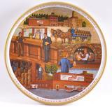 J. Leinenkugel 125th Anniversary Advertising Metal Beer Tray