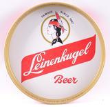 Vintage Leinenkugel Advertising Metal Beer Tray