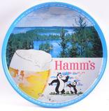 Vintage Hamm's Beer Advertising Metal Beer Tray