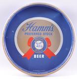 Vintage Hamm's Preferred Stock Advertising Metal Beer Tray