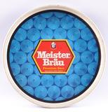 Vintage Meister Brau Premium Beer Advertising Metal Beer Tray