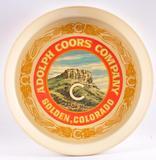Vintage Coors Advertising Plastic Beer Tray