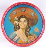 Vintage Corona Extra Advertising Metal Beer Tray