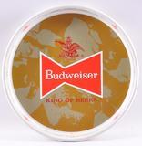 Vintage Budweiser Advertising Metal Beer Tray