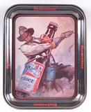 Budweiser Advertising Metal Beer Tray