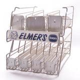 Vintage Borden's Elmer's Glue Advertising Countertop Wire Display