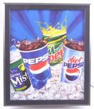 Pepsi Advertising Light Up Motion Sign
