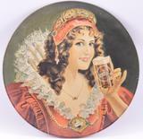 1971 Vintage Falstaff Advertising Metal Charger
