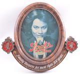 Vintage Stroh's Beer Advertising Sign