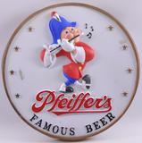 Vintage Pfeiffer's Advertising Plastic Sign