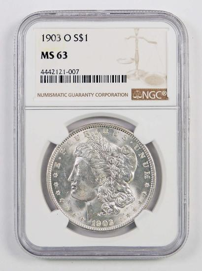 1903 O Morgan Silver Dollar (NGC) MS63