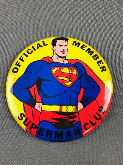 Superman Club Pin