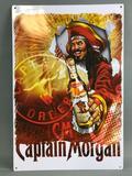 Captain Morgan Metal Advertising Sign