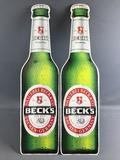 Becks Beer Metal Advertising Signs