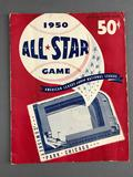 1950 All Star Game Official Score Book
