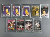 Shaquille ONeal and Kobe Bryant Collector Cards