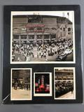 Comiskey Park Matted Prints