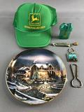 John Deere items and others