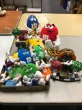 Group of M&M items