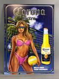 Corona Extra Metal Advertising Sign