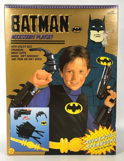 1990 Toy Biz Batman Accessory Playset Complete in Original Box