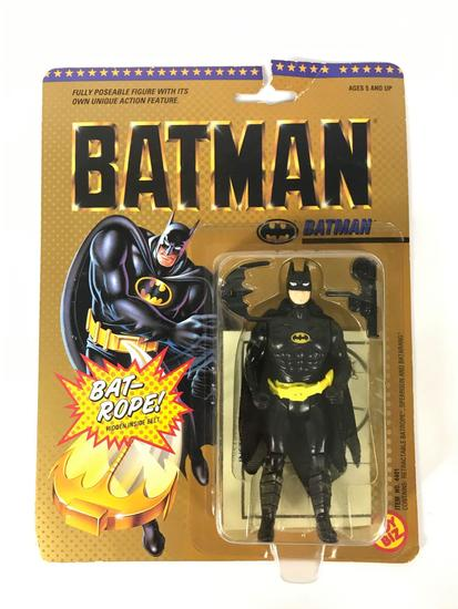 1989 Toy Biz Batman Bat-Rope Action Figure New in Original Packaging