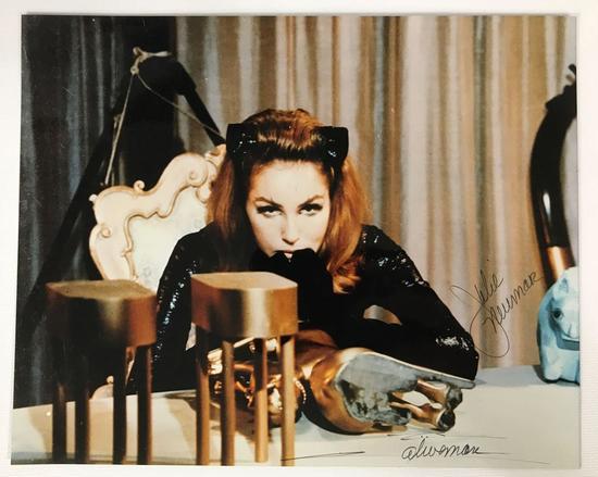 Signed Julie Newmar Photograph