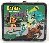 Vintage 1966 Batman and Robin Aladdin Lunchbox