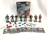 1992 Playmates Star Trek The Next Generation Collectors Case with 8 Action Figures?and Accessories
