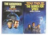Group of 2 Vintage Star Trek Novels