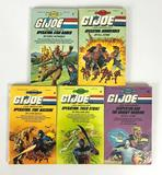 Group of 5 Vintage 1980's G.I. Joe Choose Your Own Adventure Books