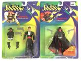 Group of 2 1994 Kenner The Shadow Action Figures in Original Packaging