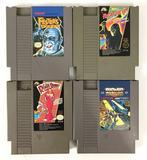 Group of 4 Vintage Nintendo Entertainment System Game Cartridges